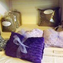 Lavender sachets and sleep pillows (Photo courtesy Barb Bourscheidt)
