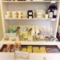 Bath, fragrance and skin care products (Photo courtesy Barb Bourscheidt)