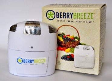 BerryBreeze refrigerator air purifier by Fridge Fresh