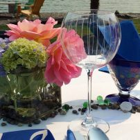 A pop of color is all you need to make summer dining special.
