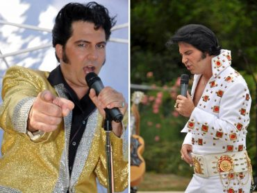 """Danny Vernon's """"Illusion of Elvis"""" plays Sunday at 5:30 during the Geoduck Festival (Photo by Joyce Bosley)"""