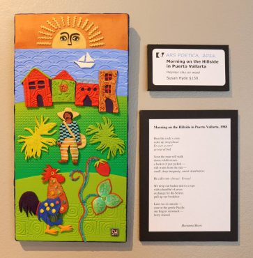 """Morning on the Hillside"" in Hyde's art and poem is on display at CVG's Gallery in Downtown Bremerton."