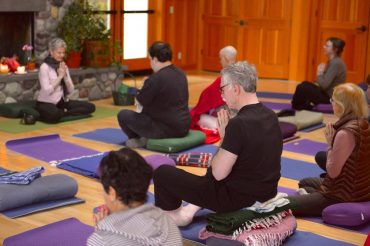 Harmony Hill Retreat Center - Yoga offered in the Great Hall