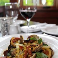 Manor House Restaurant - Spanish-style manila clams