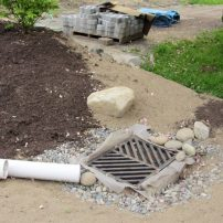 Outflow to the community stormwater system