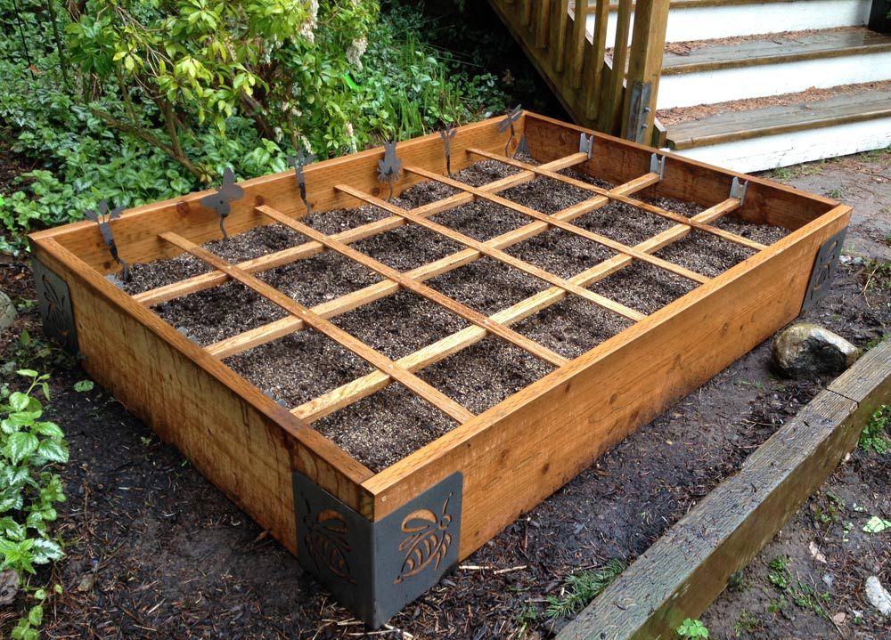 Awesome Square Foot Gardening