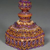 Beaded sculpture by Paulette Hoflin