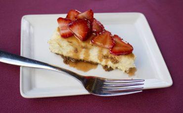 Morso Strawberry coconut cheesecake