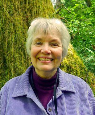 Local moss and lichen expert, Phoebe Goit