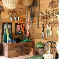 The Cutest Potting Shed Ever