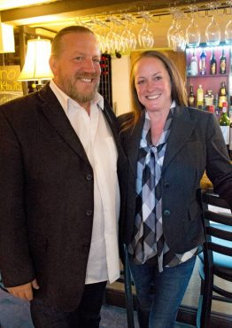 Bay Street Bistro - Owners Brady and Deanna Miller