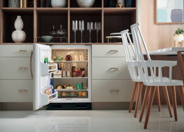Sub-Zero Model UC24R. Wolf and Sub Zero offer a complete line of smaller footprint appliances.