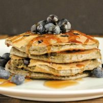 Blueberry Buckwheat Pancakes