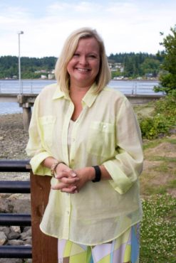 Sheila Cline — Resident of Port Orchard; two daughters