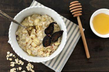Ricotta and Fig Oatmeal