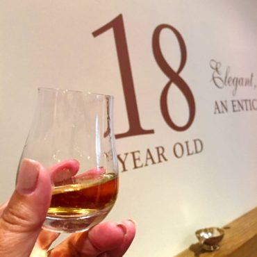 Scotch whisky tasting at Glenlivet
