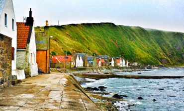 Crovie, historic seaside village in Scotland