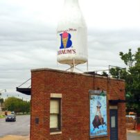 Historic Braun's Milk Store in Oklahoma City