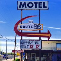 The Route 66 Motel in Kingman, Arizona