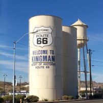 Kingman, Arizona proud to be on the Route.