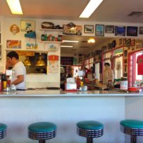 Restored 66 diner now operating as Mr. D's in Kingman, Arizona