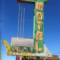 Lost in time, the Loma Verde Motel in Albuquerque, New Mexico