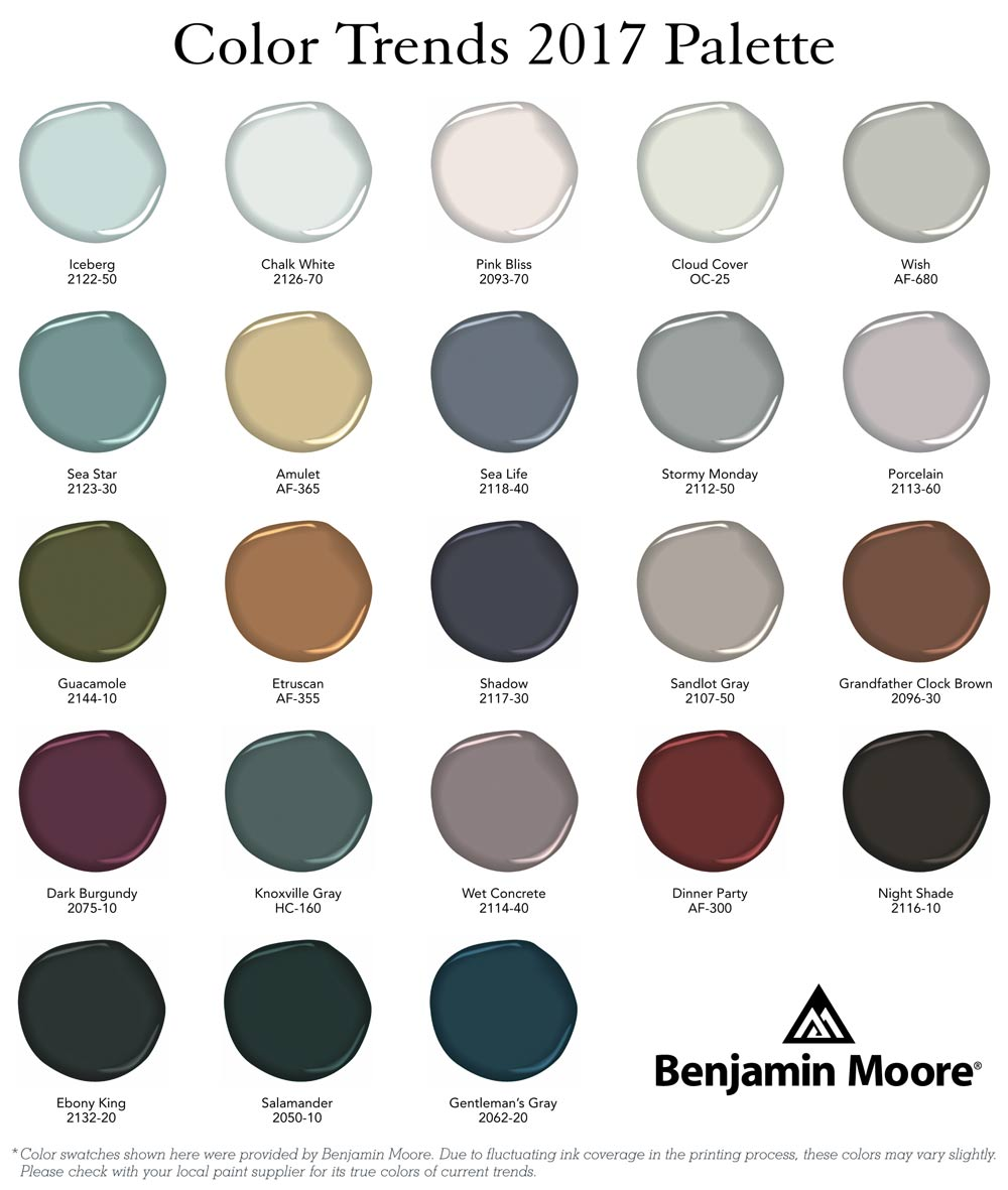 Benjamin Moore 2017 Color Of The Year Benjamin Color Of