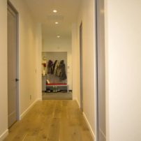 Hall to mudroom
