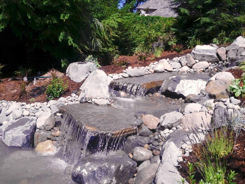 Wshg net morrison gravel 70 years of success for Waterfall installation