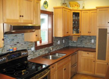 PaperStone kitchen counter in Leather (Photo courtesy Panel Tech)