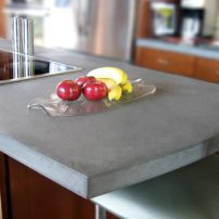 Concrete countertop (Photo courtesy Trueform Concrete)