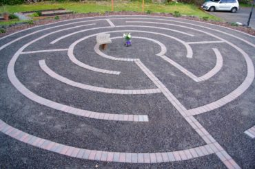 Silverdale Lutheran Church Labyrinth