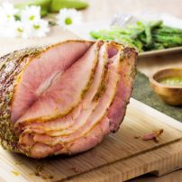 Ham with Honey, Fennel and Mustard Glaze