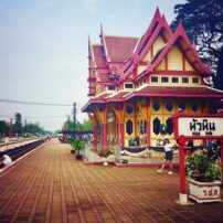 Historic Hua Hin train station