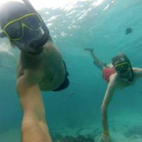 Snorkle fun in Phuket