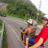 Phuket motor scooter
