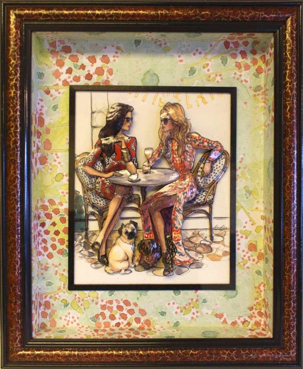 Wshg bremerton artist elevates old art of decoupage art of decoupage jeuxipadfo Image collections