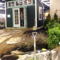Calhoun exhibit in progress