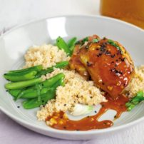Gochujang-Glazed Chicken
