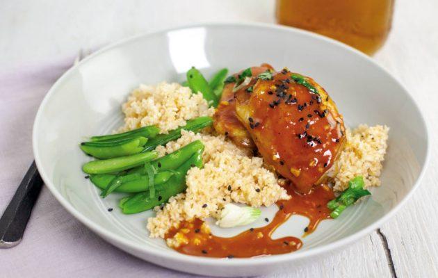 Gochujang-Glazed Chicken