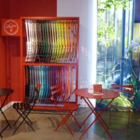 Fermob bistro chairs and tables