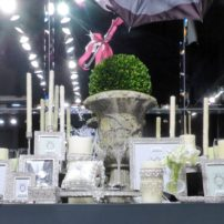 Home accessories such as these picture frames were right on trend at the Vegas Market.