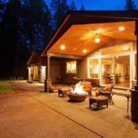 Outdoor Room Fire Pit