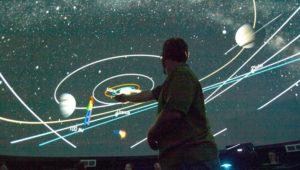 Inside the Pacific Planetarium