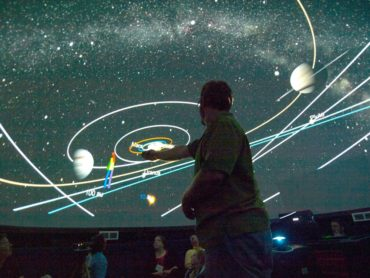 Inside the Pacific Planetarium