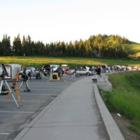 Olympic Astronomical Society Hurricane Ridge Star Party (Photo courtesy Linda Hoffmeister)