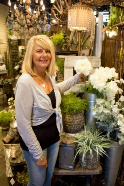 The Garden Room Owner Christine Wickstrom