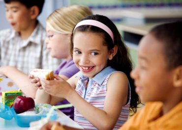 Kids Eating School Lunch (Photo courtesy Getty Images)