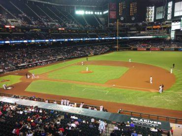 Last game, Arizona Diamondbacks and Atlanta Braves