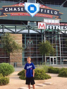 Chase Field, Phoneix, home of the Arizona Diamondbacks